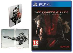 Metal Gear Solid V The Phantom Pain Steel Box (PS4) + 6 months Official Playstation Magazine Subscription - £29.50 @ My Favourite Magazines