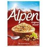 Alpen (box) - Original or N.A.S. £1.50 @ Morrisons - ENDS TODAY!
