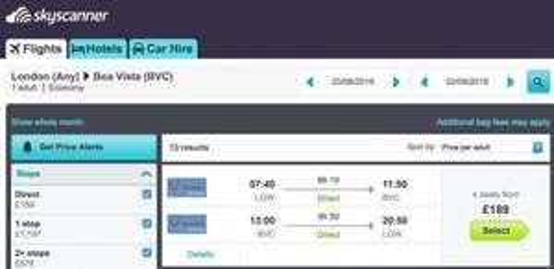 Return flights to Cape Verde from London £191 @Thomson Airways
