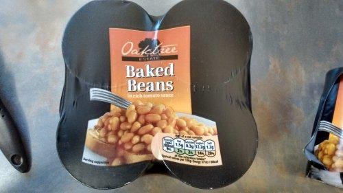 Oaktree Baked Beans 4x420g 80p instore @ Tesco