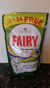 Fairy 48 Ultra Power All in One Dishwasher Tablets £4.99 @ B&M (INSTORE ONLY)