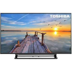 Toshiba  48 Inch 4K Ultra HD Freeview HD 3D Smart Wi-Fi LED TV- Toshiba 48U7653DB - Manufacturer Refurbished With a 12 Month Argos Guarantee- £319 Argos ebay outlet.