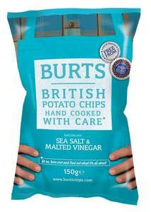 Burts Potato Chips (150g) ONLY 99p at Lidl