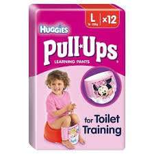 Huggies Pull Ups 12 Pack - FREE with voucher, £2 without @ Morrisons