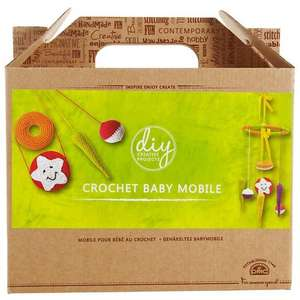 DMC Creative Crochet Baby Mobile Craft Kit, Multi (was £30) Now £15.00 at John Lewis
