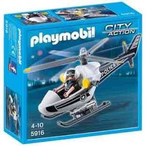 Playmobil 5916 Police Helicopter £5.99 Argos