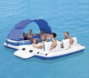 Bestway Tropical Breeze Floating Island (was £120) Now £80 at Tesco Direct