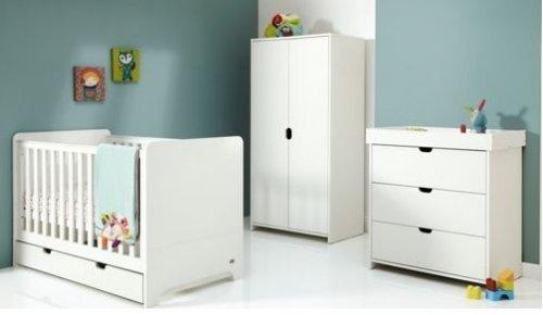Mamas and Papas Rocco 4 Piece Nursery Set - White. £399 Argos