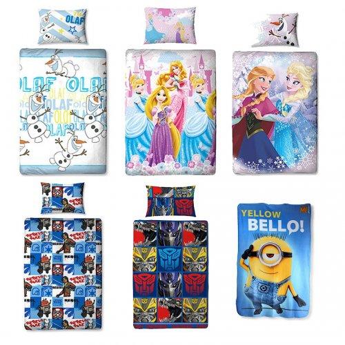 Disney Duvet cover sets and Fleece blankets £5 - £6 Each + Free C&C @ The Entertainer
