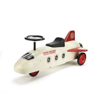 Metal Ride On Rocket was £95 now £47.50 @ The White Company (+ £4.95 Del or FREE wys £50 - combine with Pirate / Fairy Erasers & get both for £50.30 Del)