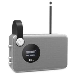 Portable Digital DAB (+) / FM Bluetooth Radio with Alarm Clock £29.99 Sold by 1Byone Products Inc. and Fulfilled by Amazon