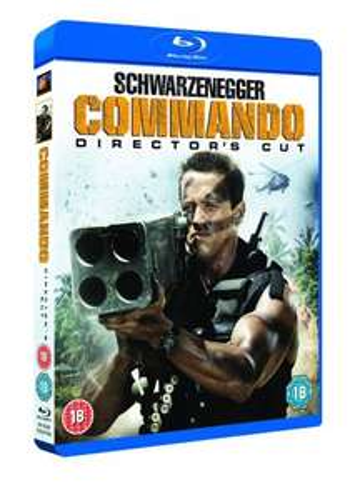 Commando Directors Cut Blu Ray £6 @ Fopp - Manchester
