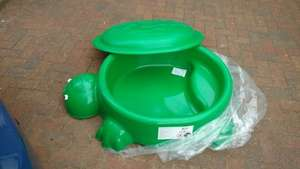 Morrisons Turtle Paddling Pool/Sandpit £12 in store @ Morrisons
