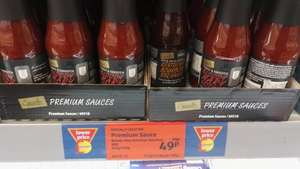 Aldi's Specially Selected Ketchup/BBQ sauce reduced to 49p