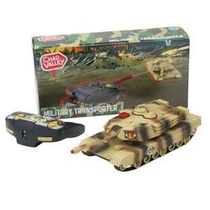 Chad Valley Infrared Controlled Tank less than half price £6.99 C+C @ Argos (more in comments)