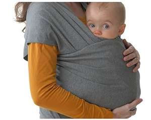 Baby sling for 99p on Amazon with £20 off purchase, with free delivery for prime members.