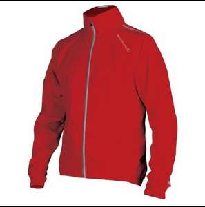 Endura Photon Waterproof Packable Jacket in Red, Black or Yellow £29.99 Delivered @ Chain Reaction Cycles