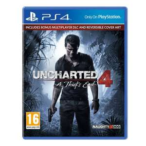 Uncharted 4 : A Thief's End PS4  £22.99  co-op ebay store