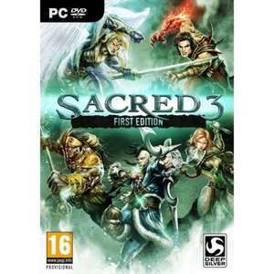 Sacred 3 First Edition PC £1.99 @ CDKeys  dont know if 5% cdkeys fbook code will work with this