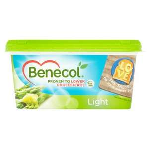 Benecol Light, Buttery or Oliveoil Spread 500G £2.50 @ Tesco