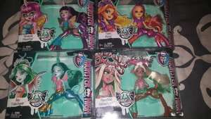 monster high £3 each, should be 12.99.  From tesco instore