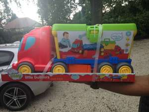 Grow Play Little Builders Truck reduced from £30 to £9.00 INSTORE @ Sainsbury's