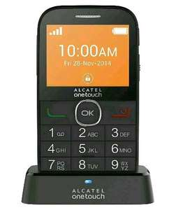 Alcatel OT 2004 BIG BUTTON on PAYG LEBARA £19.99 @ Argos incl.£10 topup
