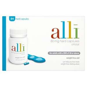 Alli Weight Loss Aid 84 Capsules @ Lloyds Pharmacy