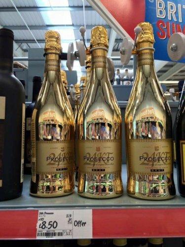 Prosseco Brut 24 Kt Gold bottle £8.50 @ Asda