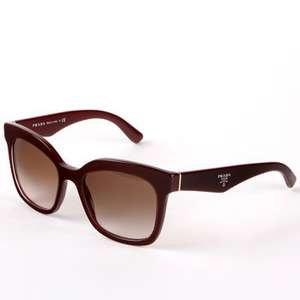 Prada Burgundy with Brown Lenses, PR24QS UAN-0A Costco Online £89.89 Delivered