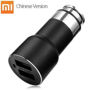 Original Xiaomi ROIDMI 2S Dual USB 3.8A Dual Mode Bluetooth 4.2 Hands-free Calls Car Charger £13.36 @ Banggood