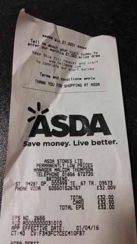 Motorola 4g 2nd gen £32 @ Asda instore