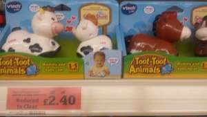 "VTECH ""Toot Toot Mummy and baby animals"" £2.40 @ Sainsburys WP Camberley"