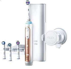 Oral B GENIUS 9000 Rose Gold Electric Toothbrush Powered by Braun £140 @ Boots