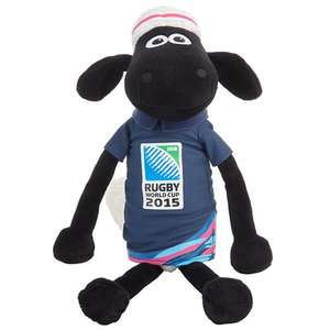 Shaun the sheep soft toy 45 cm from John Lewis Rugby Merchandise, £1.50 + £2 C&C (17.99 £ previously)