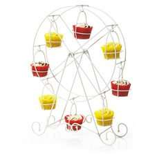 Cupcake Ferris Wheel (Cream) holds 8 cupcakes display stand WAS £12 NOW £2.50 @ Wilko - COULD BE AS LOW AS £1.25!
