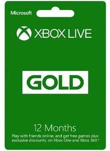 Xbox Live Gold Membership 12 months Xbox Live Key - £29.85 @ Simplygames