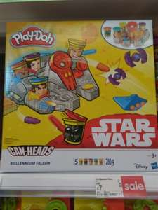 Play-Doh Star Wars Millennium Falcon Featuring Can-Heads £7 /  Play-Doh Disney Princess Rapunzel Tower Playset £5 @ Asda