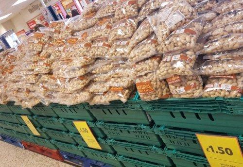 Monkey Nuts... stacks of them! £1.50 @ Tesco