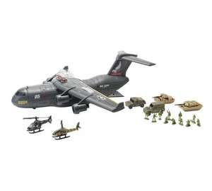 Chad Valley Military Aircraft C17 Playset £6.99 @ Argos