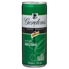 gordons gin and tonic half price £5 at ASDA (10 pack)