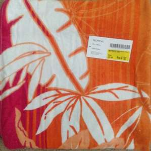 Beach towels £1.25 from £5.00 (75% off) @ Morrisons