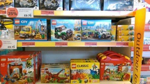 LEGO Various (75909) £9.75 Sainsbury Newhaven