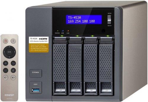 QNAP TS-453A-4G 4 Bay NAS Enclosure with 4GB RAM £334.99 Amazon