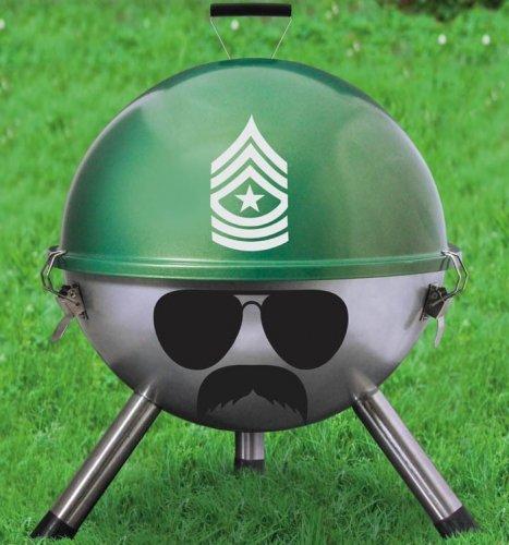 Gentlemen's Club Grill Sergeant BBQ, Free Delivery £9.99 @ thegiftandgadgetstore.com