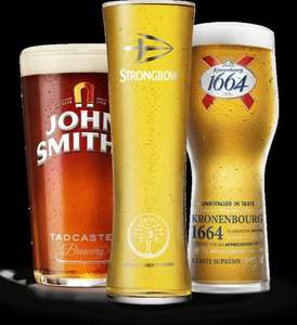 FREE PINT OF JOHN SMITH'S EXTRA SMOOTH, STRONGBOW ORIGINAL OR KRONENBOURG 1664 @ PUNCH TAVERN'S