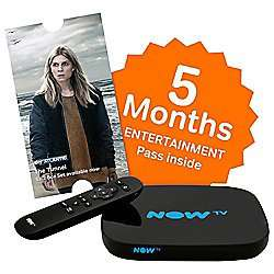 Now TV smart Box with 5 month entertainment or move pass £40 @ Asda
