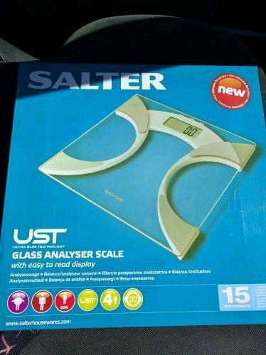 Salter Ultra Slim Analyser Bathroom Scales £11.50 in store @ Tesco