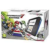 Nintendo 2DS Console with Mario Kart 7 / Tomodachi / New Super Mario Bros 2 - £69 @ Tesco (with code) - free collection