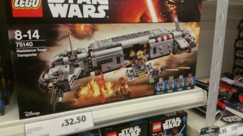 Lego Star Wars Troop Transport 75140 £32.50 Tesco